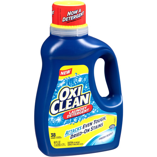FREE OxiClean HD Laundry Detergent At ShopRite With New Coupon!