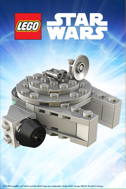 Toys R Us -Free LEGO Star Wars Millennium Falcon, Booklet & More