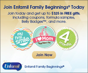 Join Enfamil Family Beginnings and get up to $325 in FREE gifts