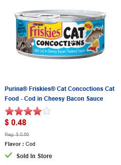Friskies Cat Concoctions