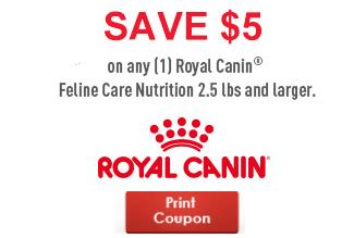 *Rare* Royal Canin $5 Off Coupon