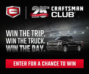 Craftsman Club 25th Anniversary Sweepstakes