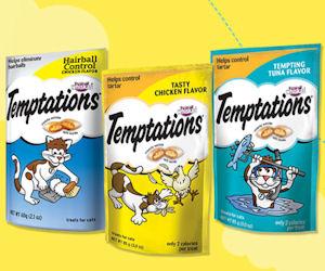 Free Sample of Whiskas Temptations Cat Treats!
