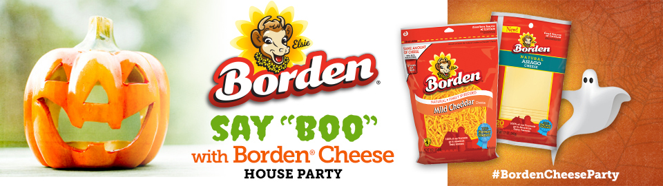 Host a Free Say Boo with Borden Cheese House Party!