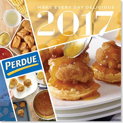 *Hurry* Free 2017 Perdue Recipe Calendar