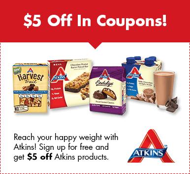 FREE Atkins Quick Start Kit Plus High Value Coupons!