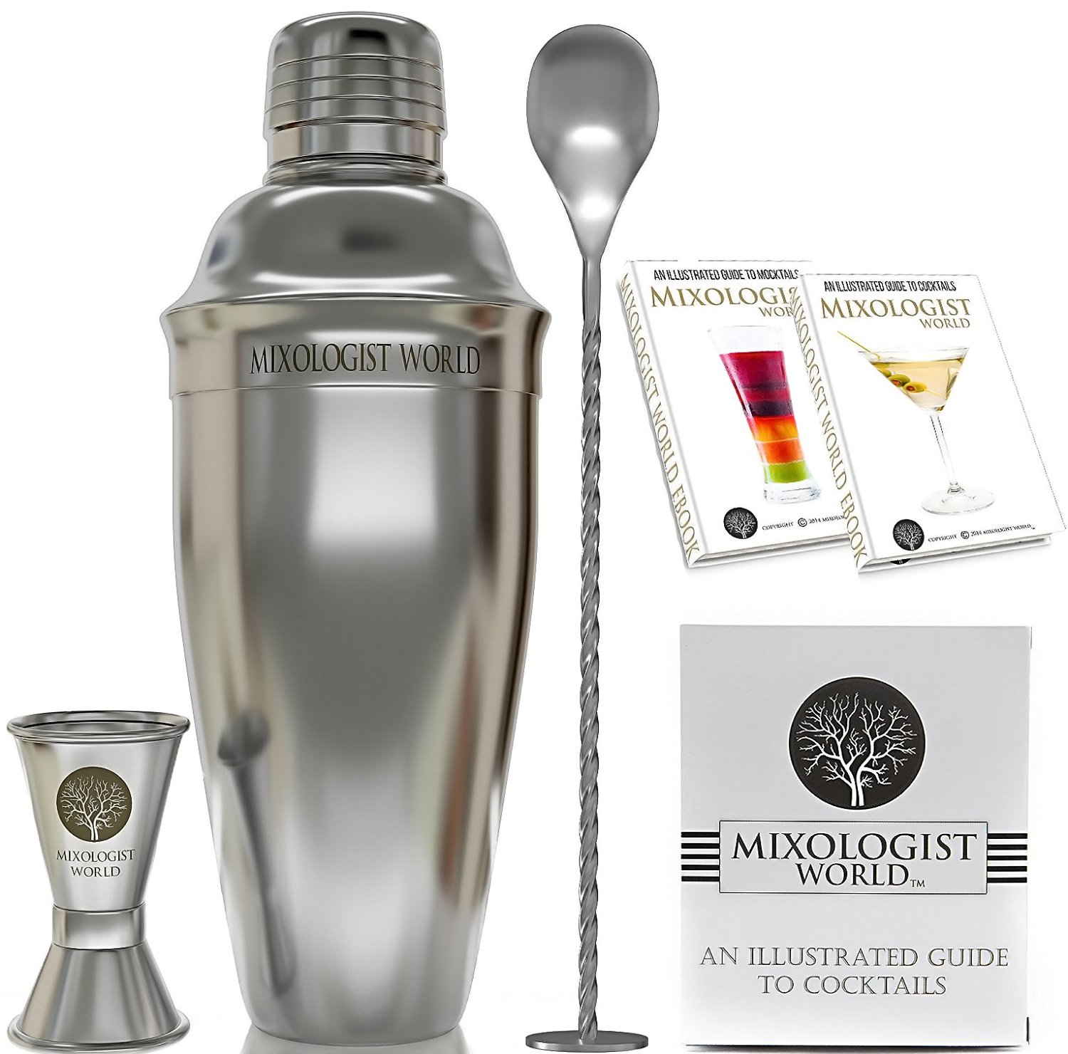 Amazon Deal – Mixologist World Cocktail Shaker Set Only $16.67
