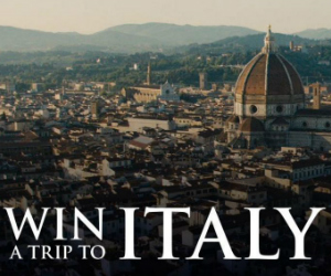 Win a Trip to Florence Italy in the INFERNO IMAX Sweepstakes
