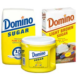 Save – 75¢ on TWO (2) Domino® Sugar Products 2 lbs. or Larger