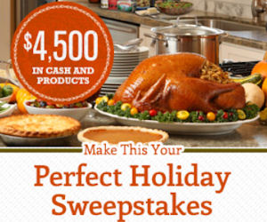 Make This Your Perfect Holiday Sweepstakes