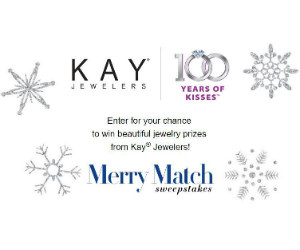 Win a New Prize from Kay Jewelers Every Day