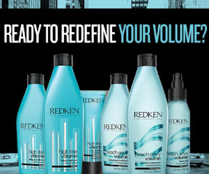 Free Sample of Redken Beach Envy Volume or High Rise Volume