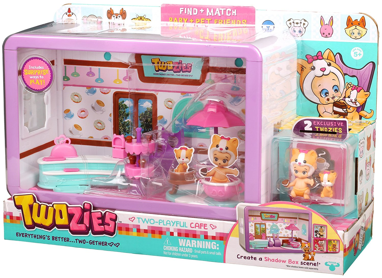 Amazon Deal – Twozies Cafe Playset on sale for $7.99, Save 60% Off