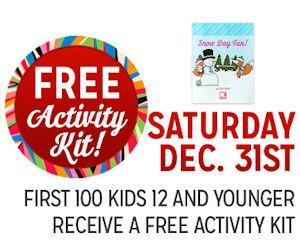 Kmart Freebie Saturday – Free Activity Kit