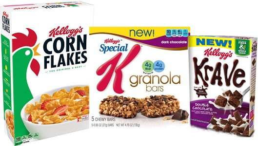 Save Over $6.00 In Kellogg's Coupons!