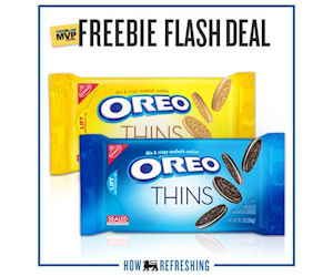 Free Oreo Thins for Food Lion Shoppers