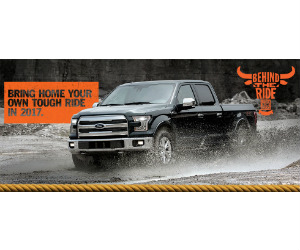 Win a 2017 Ford F-150 & a Trip to the 2017 PBR BFT World Finals