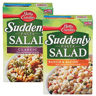 New Coupon – $0.50/1 Betty Crocker Suddenly Salad