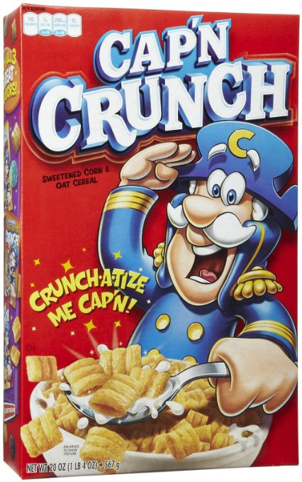 Save $1.00 on any 2 (two) boxes of Cap'n Crunch cereal