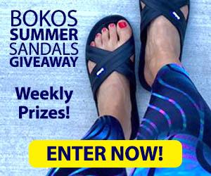 Bokos Summer Sandals Giveaway