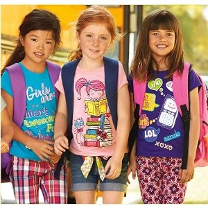 *Hot Deal* The Children's Place – $3.99 Short Sleeve Graphic Tee's Plus, earn $10 Place Cash when you spend $20