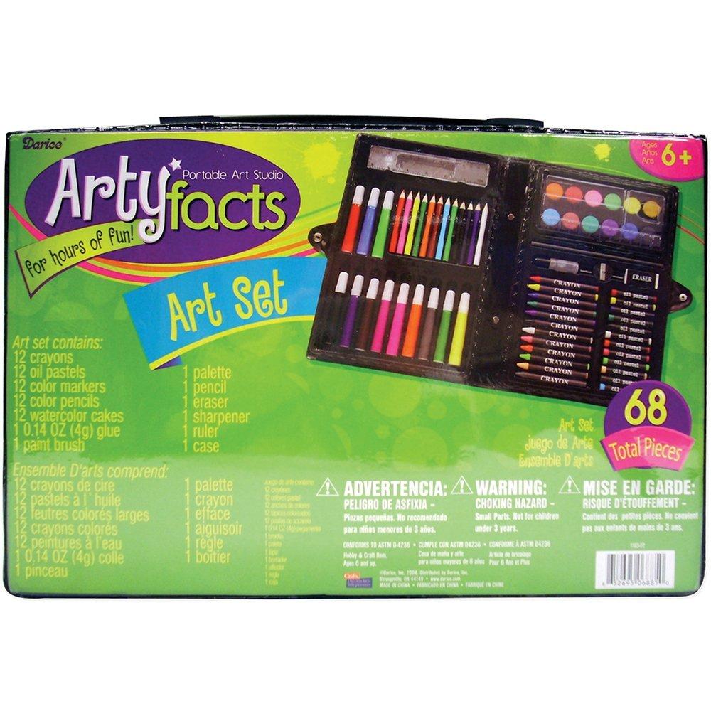 Amazon Deal – Darice 68-Piece Art Set Only $2.76
