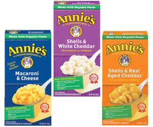 Free Annie's Natural Macaroni & Cheese at Kroger & Affiliates