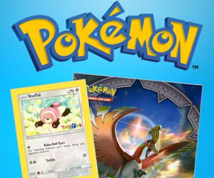 Free Pokemon Card & Collector's Album at Toys R Us
