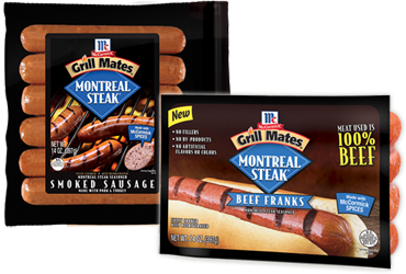 *HOT* Save $0.75/1 MCCORMICK GRILL MATES Sausage Link or Beef Frank