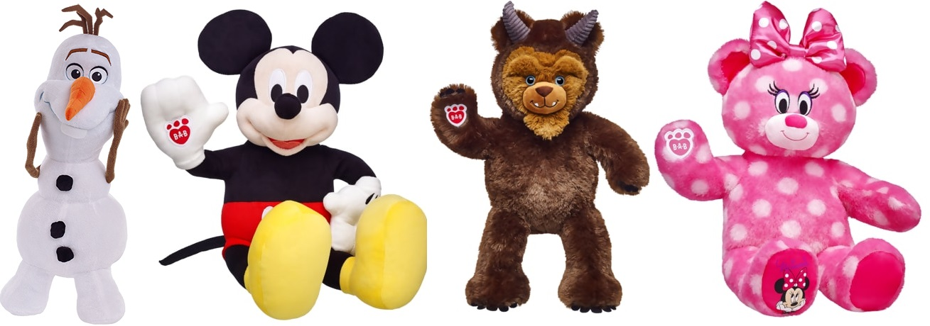 *HURRY* Today Only – Save Up To 60% At Build A Bear For Their Disney Days Event!