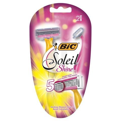 ShopRite Deal – $2 Money Maker on BIC Soleil Shine Disposable Razors!
