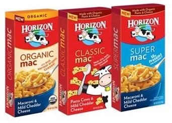 Upcoming ShopRite Deal – Free  Horizon Mac & Cheese (PRINT NOW)