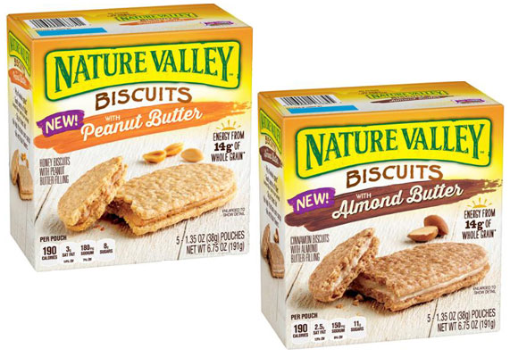 New Coupon – Save  $0.60/1 Nature Valley Breakfast Biscuits