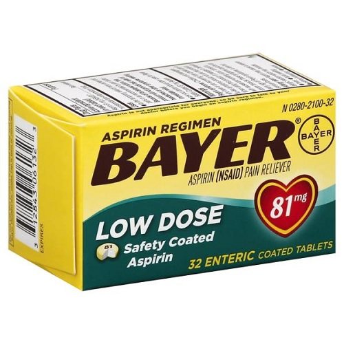 Bayer Low Dose Tablets Only $0.79 At ShopRite