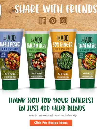 Free Just Add Herb Blends
