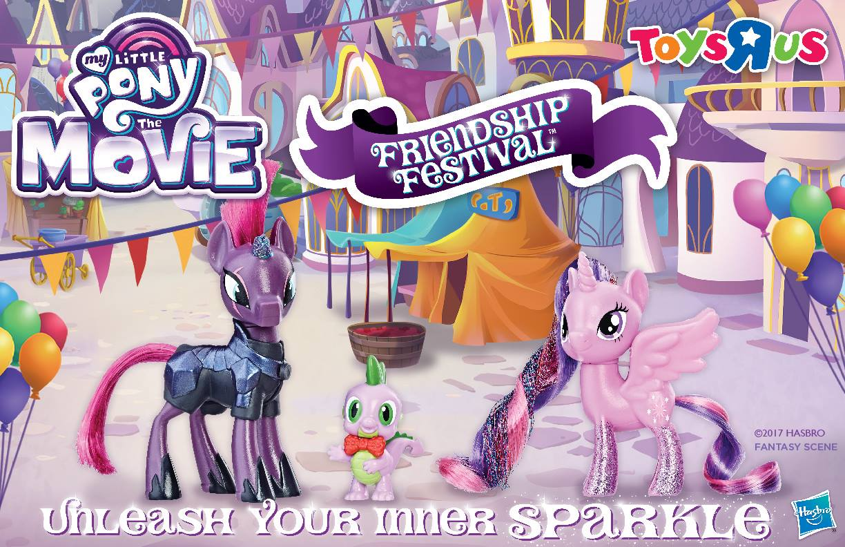 Free My Little Pony Friendship Festival at Toys R Us