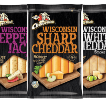 Frigo Cheese Heads Wisconsin Snacking Cheese