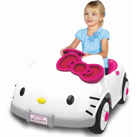 Hello Kitty Ride On Car – Only $79.00 (Reg $229.00) Plus Free Shipping