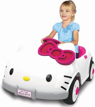 Hello Kitty Ride On Car