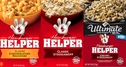 Helper OR Ultimate Helper Skillet Dishes