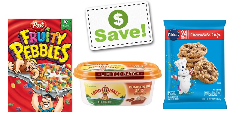 Fire Up Those Printers – New Coupons Including: Land O Lakes, Pillsbury, Post & More!