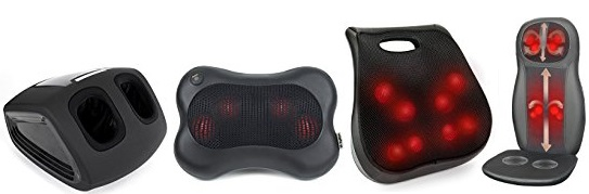 Amazon Deal: Save Up to 60% Off Shiatsu Pillow Massagers with Heat Plus Get Free Shipping!