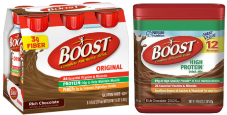 Save – $1.50 on any ONE (1) multipack or canister of BOOST Nutritional Drink or Drink Mix