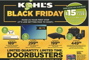 Kohl's Black Friday Ad 2017
