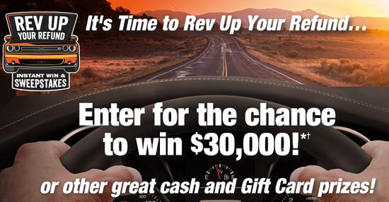 Win $30,000 Cash or AutoZone Gift Cards Instantly