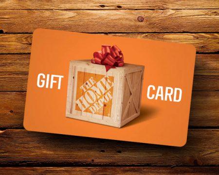 Win a $2500 Home Depot Gift Card