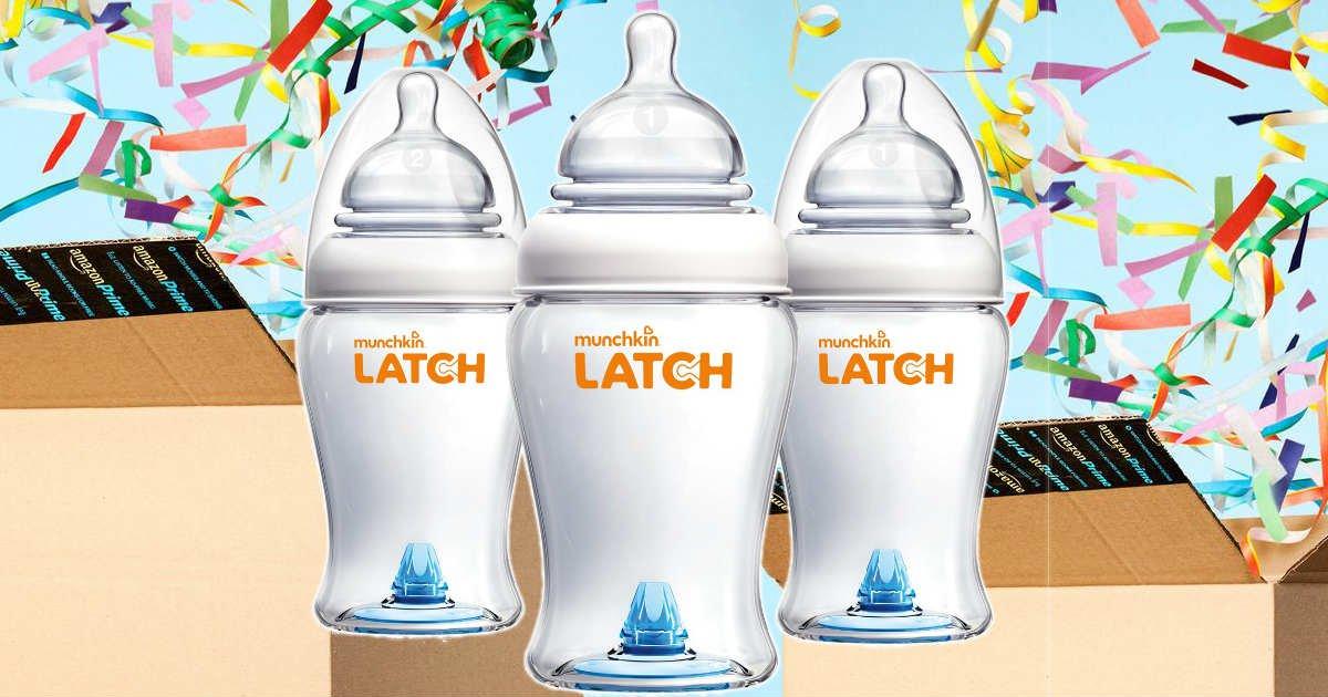 Amazon Prime Deal: FREE Munchkin Baby Bottles
