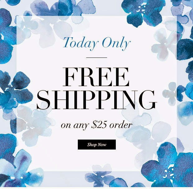 TODAY ONLY – Avon Has FREE Shipping When You Spend $25