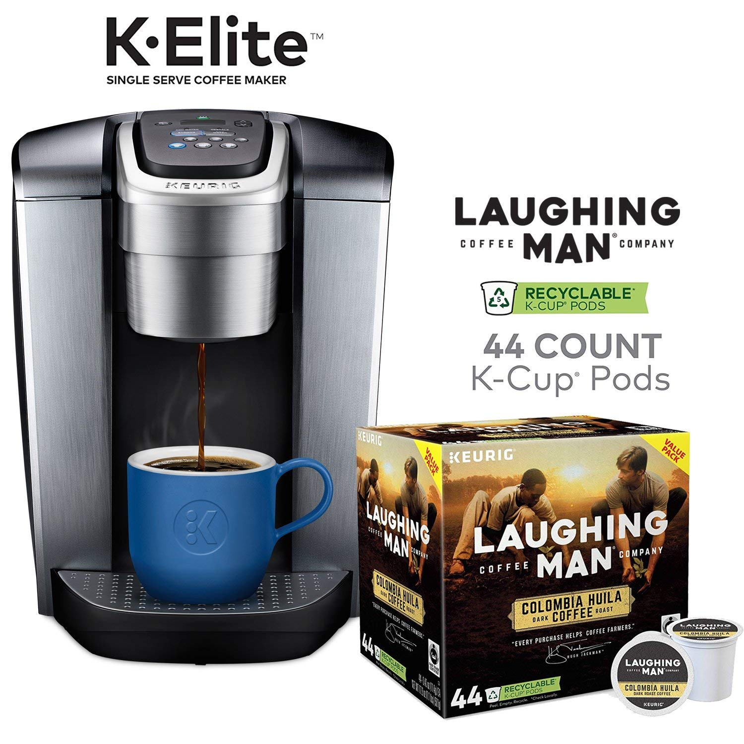 Amazon Prime Deal: Keurig K-Elite With 44 K- Cup Pods Only $99.99 + FREE Shipping
