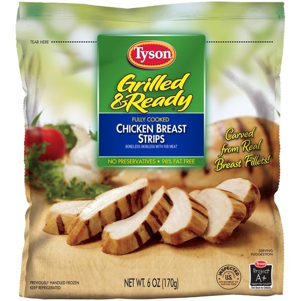 Save $1.25 ANY ONE (1) Tyson Grilled & Ready Product